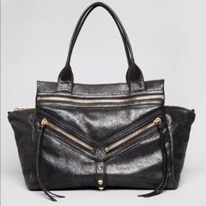 🆕Like New⭐️Botkier Trigger Black Leather Satchel